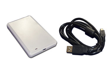 China Asset Tracking RFID Desktop Reader , USB UHF RFID Reader White supplier