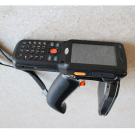 China Impinj R2000 Handheld Barcode Scanner , UHF RFID Card Reader RS232 / USB Interface supplier