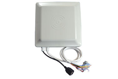 China 6 M Line 8dbi Antenna RFID Integrated Reader Circular Polarized Ethernet RS 232 distributor