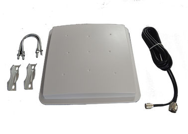 China Circular Polarized RFID Tag Antenna , RFID Antenna Reader For Auto Weighing System distributor