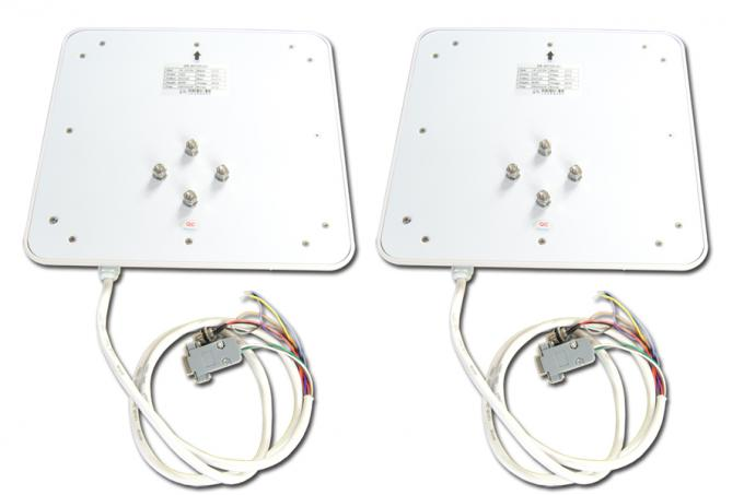 Water Proof Mid Range RFID Reader For Parking Management White