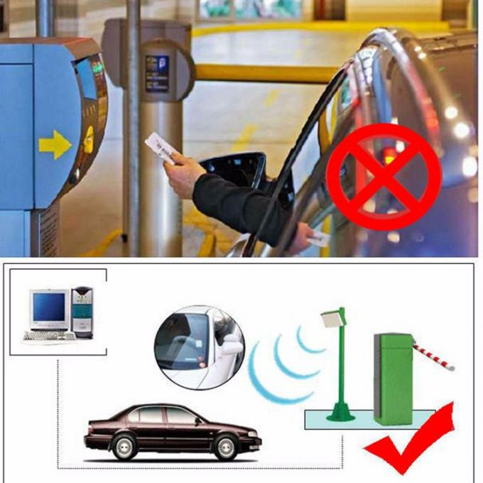 15M Long Range Integrated Tag Passive Uhf Rfid Card Reader For Car Parking System