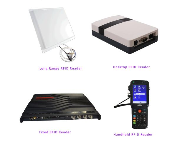 Free SDK Passive UHF RFID Integrated Reader 5m long distance Multiple Protocol